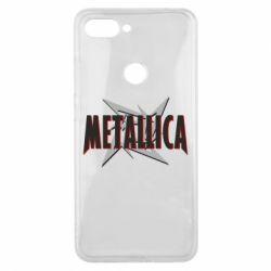 Чехол для Xiaomi Mi8 Lite Metallica Logo