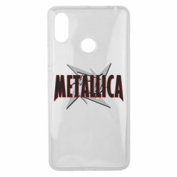 Чехол для Xiaomi Mi Max 3 Metallica Logo
