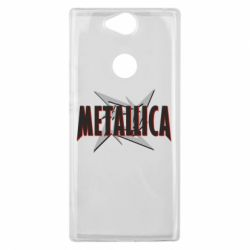 Чехол для Sony Xperia XA2 Plus Metallica Logo - FatLine