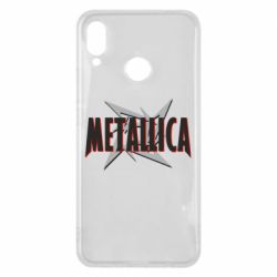 Чехол для Huawei P Smart Plus Metallica Logo - FatLine