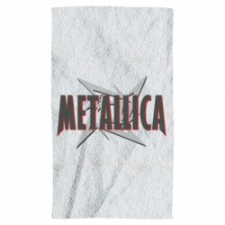Полотенце Metallica Logo - FatLine