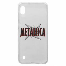 Чохол для Samsung A10 Логотип Metallica