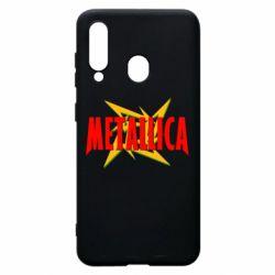 Чохол для Samsung A60 Логотип Metallica