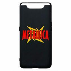 Чохол для Samsung A80 Логотип Metallica