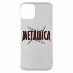 Чехол для iPhone 11 Metallica Logo