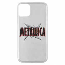 Чехол для iPhone 11 Pro Metallica Logo