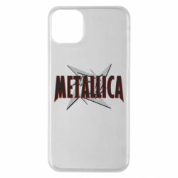 Чехол для iPhone 11 Pro Max Metallica Logo