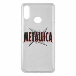 Чохол для Samsung A10s Логотип Metallica
