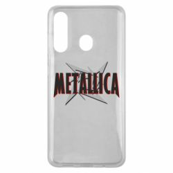 Чохол для Samsung M40 Логотип Metallica