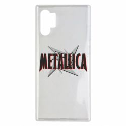 Чехол для Samsung Note 10 Plus Metallica Logo