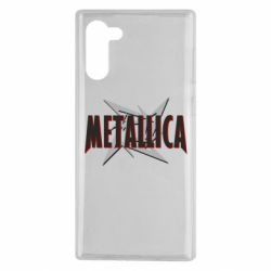 Чохол для Samsung Note 10 Логотип Metallica
