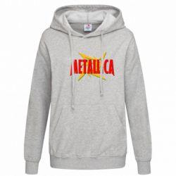 Женская толстовка Metallica Logo - FatLine