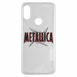 Чехол для Xiaomi Redmi Note 7 Metallica Logo