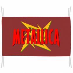 Прапор Логотип Metallica