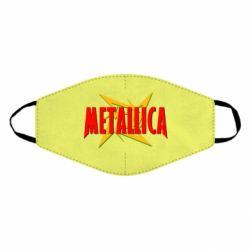 Маска для обличчя Логотип Metallica