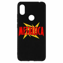 Чехол для Xiaomi Redmi S2 Metallica Logo