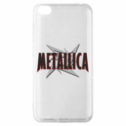 Чехол для Xiaomi Redmi Go Metallica Logo