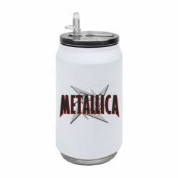 Термобанка 350ml Metallica Logo