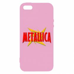Чехол для iPhone5/5S/SE Metallica Logo