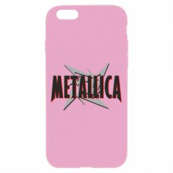 Чехол для iPhone 6/6S Metallica Logo