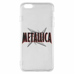 Чехол для iPhone 6 Plus/6S Plus Metallica Logo