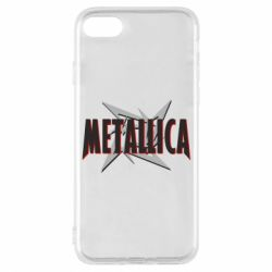 Чехол для iPhone 7 Metallica Logo