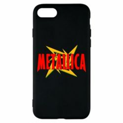 Чехол для iPhone 8 Metallica Logo