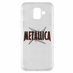 Чохол для Samsung A6 2018 Логотип Metallica