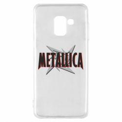 Чохол для Samsung A8 2018 Логотип Metallica