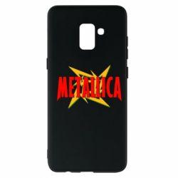 Чохол для Samsung A8+ 2018 Логотип Metallica