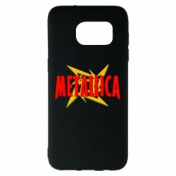 Чохол для Samsung S7 EDGE Логотип Metallica