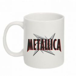Кружка 320ml Metallica Logo - FatLine