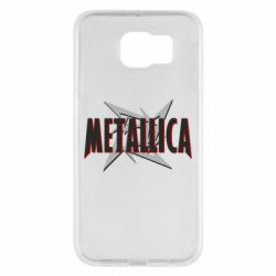 Чохол для Samsung S6 Логотип Metallica