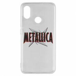 Чехол для Xiaomi Mi8 Metallica Logo