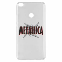 Чехол для Xiaomi Mi Max 2 Metallica Logo