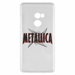 Чехол для Xiaomi Mi Mix 2 Metallica Logo - FatLine