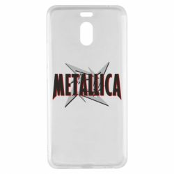 Чехол для Meizu M6 Note Metallica Logo - FatLine