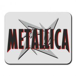 Килимок для миші Логотип Metallica
