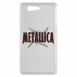 Чехол для Sony Xperia Z3 mini Metallica Logo - FatLine