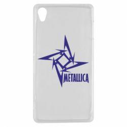 Чехол для Sony Xperia Z3 Metallica Logotype - FatLine