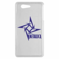 Чехол для Sony Xperia Z3 mini Metallica Logotype - FatLine
