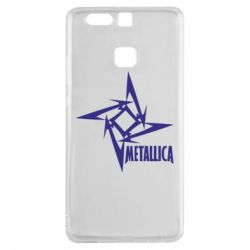 Чехол для Huawei P9 Metallica Logotype - FatLine