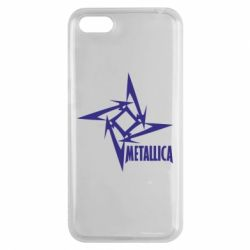 Чехол для Huawei Y5 2018 Metallica Logotype - FatLine