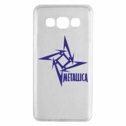 Чехол для Samsung A3 2015 Metallica Logotype - FatLine
