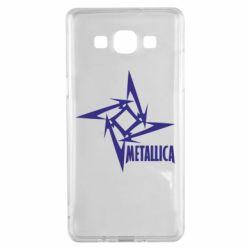Чехол для Samsung A5 2015 Metallica Logotype - FatLine