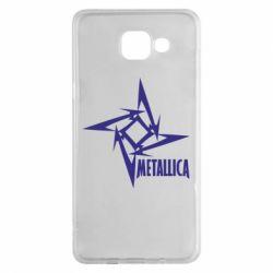 Чехол для Samsung A5 2016 Metallica Logotype - FatLine