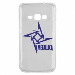 Чехол для Samsung J1 2016 Metallica Logotype - FatLine