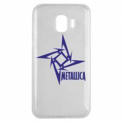 Чехол для Samsung J2 2018 Metallica Logotype - FatLine