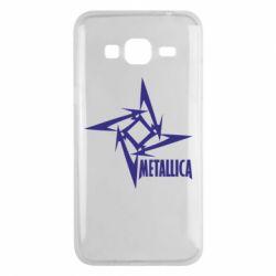 Чехол для Samsung J3 2016 Metallica Logotype - FatLine