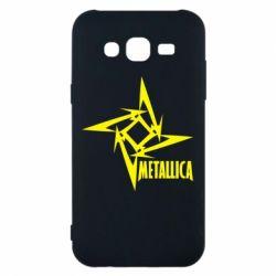 Чехол для Samsung J5 2015 Metallica Logotype - FatLine